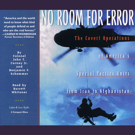 no room for error no room for error audiobook by benjamin f schemmer read by lawlor for just 5 95