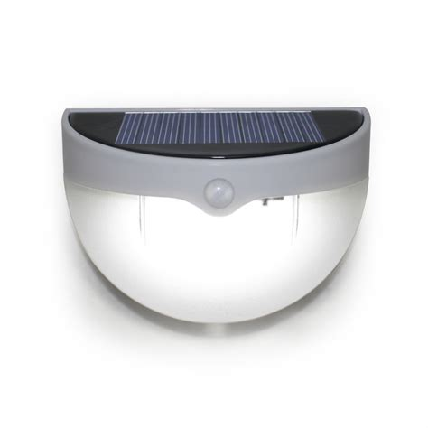 6 Led Solar Powered Outdoor Wall Light With Montion Sensor Solar Led Wall Light
