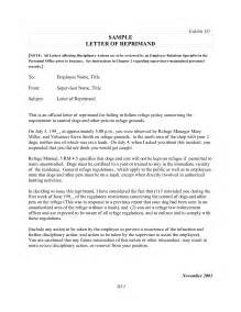 Letter Of Reprimand Template by Best Photos Of Employee Attendance Reprimand Letters