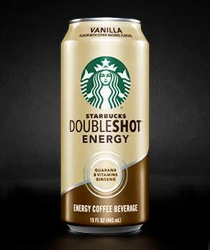 energy drink at starbucks starbucks doubleshot 174 energy vanilla drink starbucks