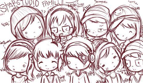 doodle family starstdio family doodle by hoshimee on deviantart