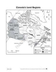 grade 4 social studies canada map activity sheet