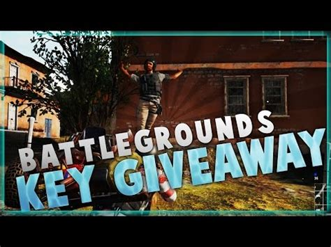 Playerunknown S Battlegrounds Giveaway Key - playerunknown s battlegrounds alpha key free doovi