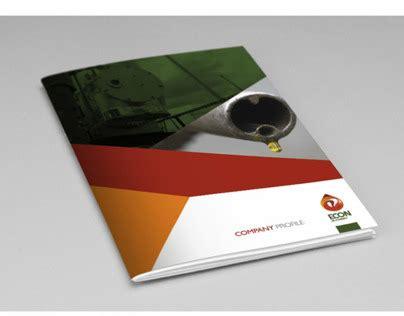 oil company profile design econ oil company profile design layout on behance