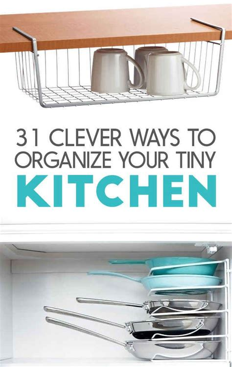 ways to organize your kitchen 31 insanely clever ways to organize your tiny kitchen