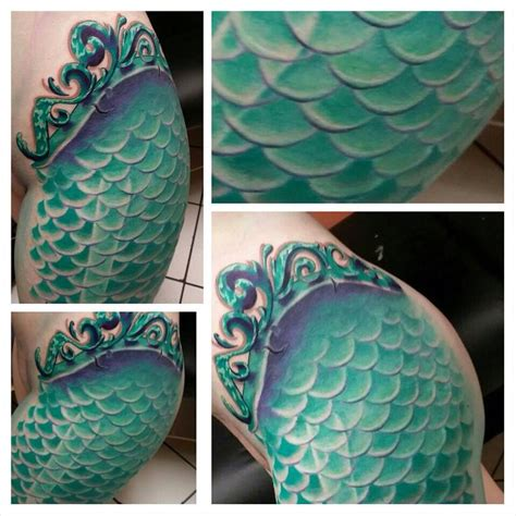 mermaid tail tattoo 25 b 228 sta mermaid scales id 233 erna p 229