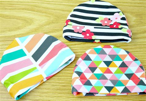 jersey hat pattern jersey baby hat tutorial spoonflower blog