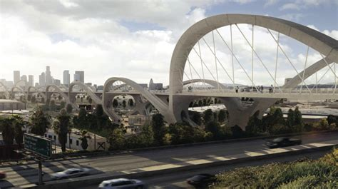 l a s 6th street bridge design competition and the hntb s winning concept for la s 6th street viaduct