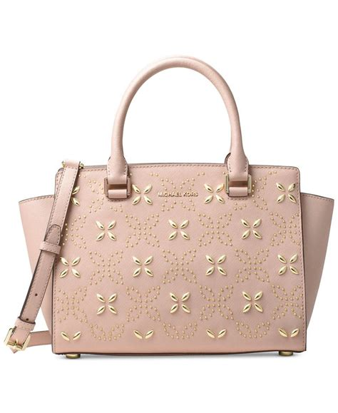 New Motif Michael Kors Specchio Shopping Tote 4in1 michael kors ballet gold leather selma medium floral studded satchel tradesy