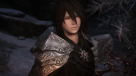 skyrim anime eyes for guys azel vire male follower at skyrim nexus mods and