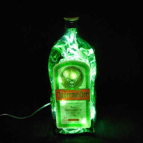 jagermeister bottle light by heartofglassuk on etsy