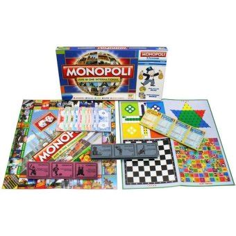Mainan Monopoli 9 In 1 Strategy lullaby monopoly 5 in 1 mainan anak lazada indonesia
