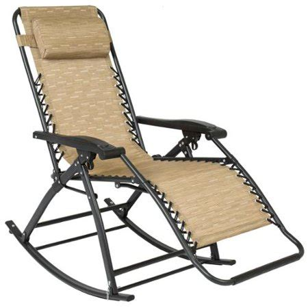 choice products  gravity rocking chair lounge porch seat outdoor patio walmartcom