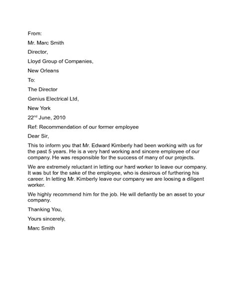 Recommendation Letter Editor recommendation letter sle edit fill sign