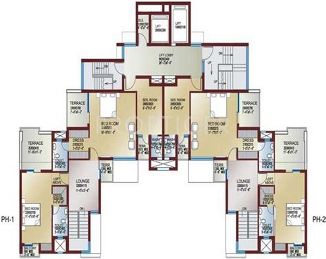 celebrity homes floor plans 1295 sq ft 2 bhk 2t apartment for sale in ansal api
