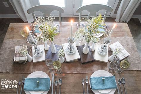 Design House Decor Wedding thrifty 30 spring to summer tablescape