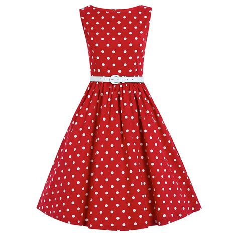 polka dot swing dress audrey red polka dot swing dress vintage inspired