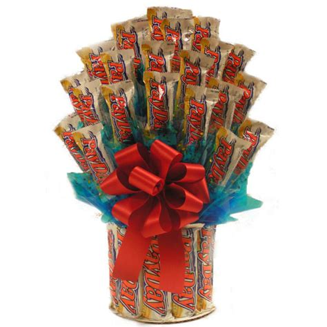 All Payday Candy Bouquet for Students FREE SHIP
