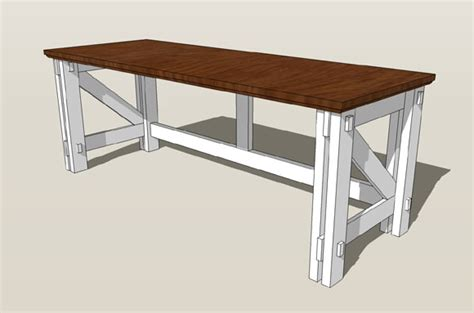 Computer Desk Plans Remodelaholic Custom Computer Desk Plans