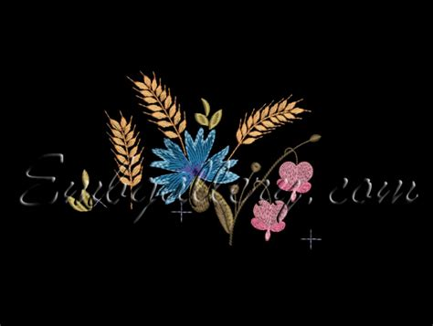 S050 B quot quot 130x180mm machine embroidery design