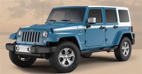 chief jeep wrangler 2017 jeep wrangler gets a couple more special editions before