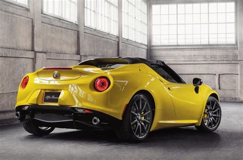 Alfa Romeo 4c Cost by Alfa Romeo 4c Spider To Cost From Just 163 60 000 Autocar