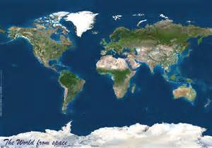 World Satellite Map by World Map Or Map Of World Or Map Of The World