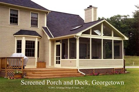 Screened In Deck Enclosed Porch Ideas On Decks Screened
