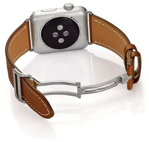 Apple Watchband Hermess Singel Tour Premium Genuine Leather how to get the herm 232 s single tour look for less imore