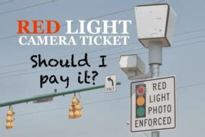 Should I Pay My Light Ticket