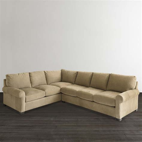 leather scarborough l shaped sofa