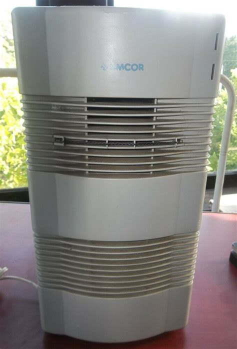 amcor air purifier ionizer hepa tower ht 2000 tested works