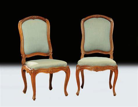 sedie luigi xv sei sedie in stile luigi xv in noce genova xix secolo