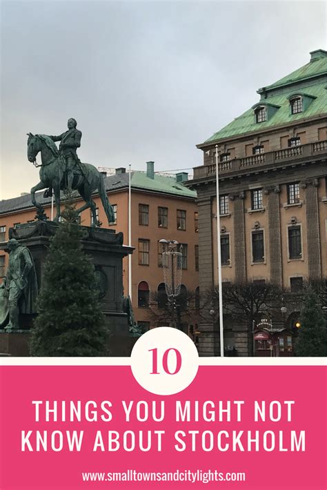 10 things you may not know about adding color to your 10 things you might not know about stockholm small towns