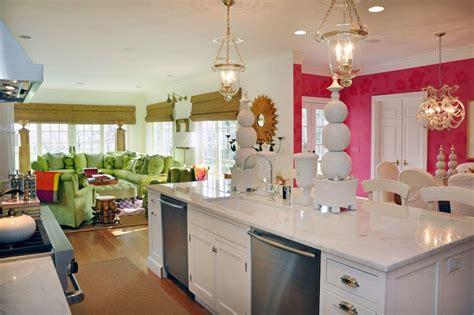 pink kitchens hundi lantern design ideas