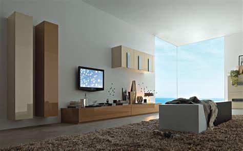 contemporary tv wall units   living room