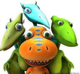 Who s who in dinosaur train