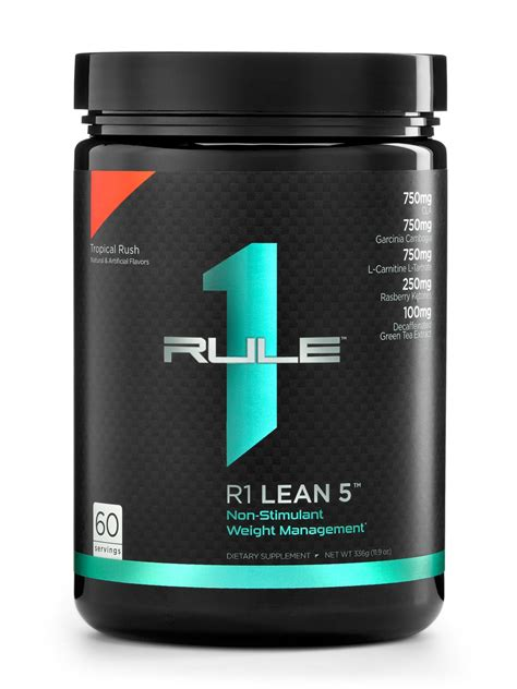 r nutrition weight management review r1 lean 5 rule one proteins