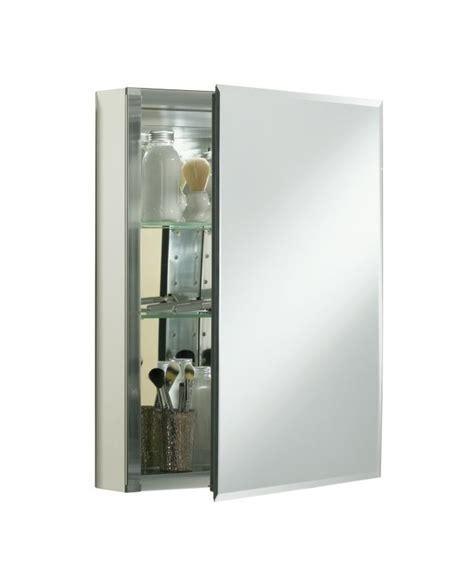 medicine cabinet hinge replacement parts kohler k cb clc2026fs silver aluminum 20 quot x 26 quot single