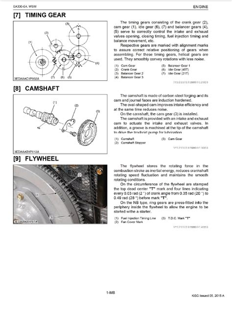 Kubota Ea330 E4 Series Diesel Engines Workshop Manual Pdf