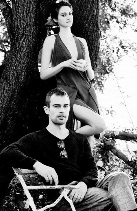 Shailene Woodley and Theo James talk 'Divergent' in March