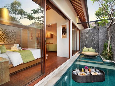 one bedroom villa with private pool bali 13 affordable luxury honeymoon villas in bali for a