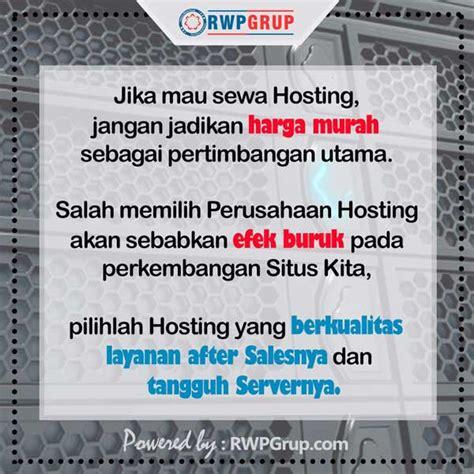 Yg Murah Dan Bagus hosting murah dan berkualitas rwpgrup official website
