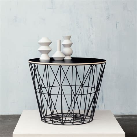 the wire basket from ferm living in the shop