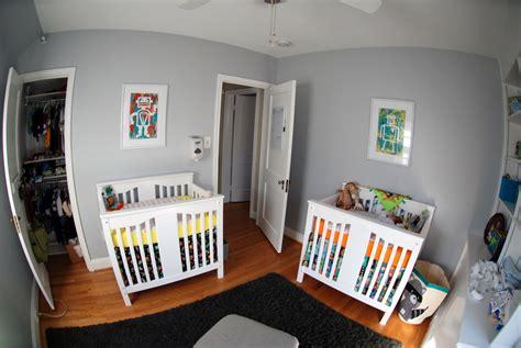 robot nursery deluca doubles