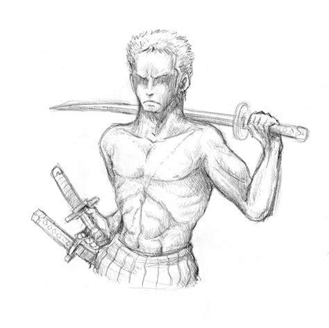 sketchbook q2 sketch roronoa zoro by katchina q2 on deviantart
