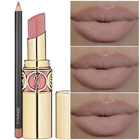 eyeshadow tutorial ysl lip mix ysl 2 mac oak lip pencil make up glamour