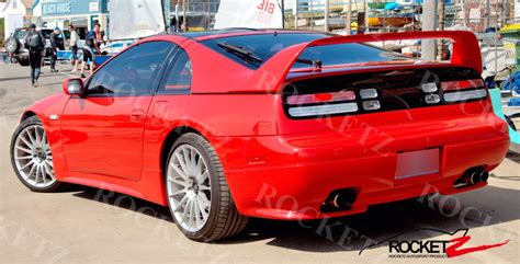 nissan 300zx spoiler 300zx bx style spoiler rocketz autosport