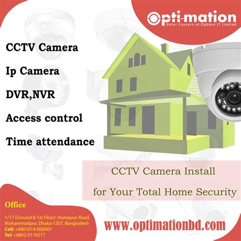 cctv install for your total home security