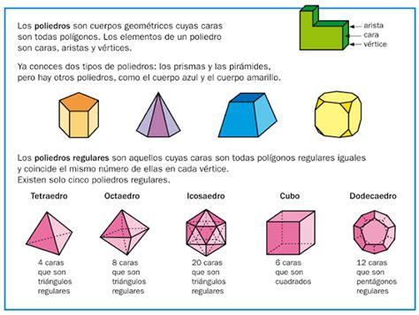 figuras geometricas vertices aristas y caras cristina y el mundo los poliedros regulares calcular